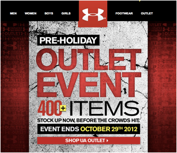 pre-holiday email marketing